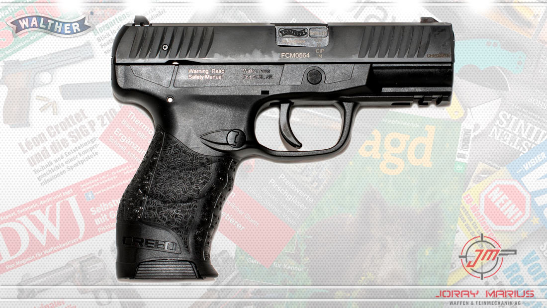 Faustfeuerwaffen Pistole Walther Creed